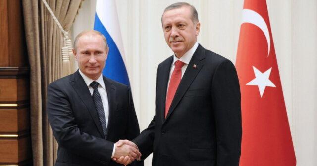 Ərdoğan və Putin Qarabağ məsələsini müzakirə ediblər