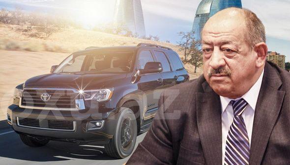 Bayram Səfərovun 100 minlik avtomobili – VİDEO